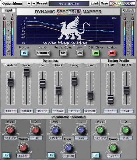 Dynamic Spectrum Mapper v1.3.3 AU VST RTAS OSX iNTEL-XVX