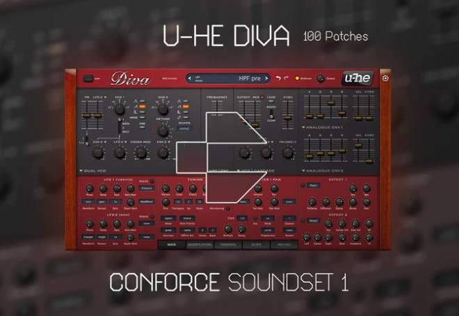 Conforce Soundset Vol.1 U-he DiVA